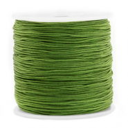 Macramé bead cord 1.5mm Mossy Meadow Green