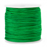 Macramé bead cord 1.5mm Irish Jig Green