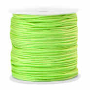 Macramé bead cord 1.5mm Lime Punch Green