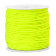 Macramé bead cord 1.5mm Limelight Yellow Green