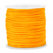 Macramé bead cord 1.5mm Saffron Yellow