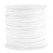 Macramé bead cord 1.5mm Bright White
