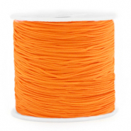 Macramé bead cord 0.8mm Mandarin Orange