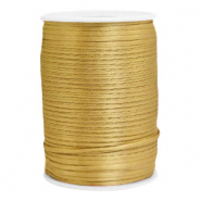 Satin wire 2.5mm Gold