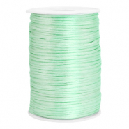 Satin wire 2.5mm Neo Mint Green