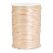 Satin wire 2.5mm Peachy Rose