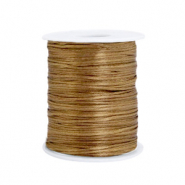 Satin wire 1.5mm Antique Gold