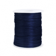 Satin wire 1.5mm Dark Blue