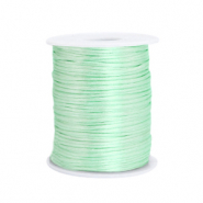 Satin wire 1.5mm Neo Mint Green