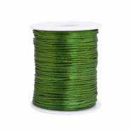 Satin wire 1.5mm Dark Green