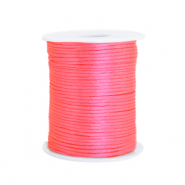 Satin wire 1.5mm Fluor Pink