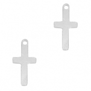 925 Silver charms cross Silver