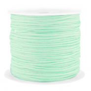 Macramé bead cord 1.5mm benefit package Neo Mint Green