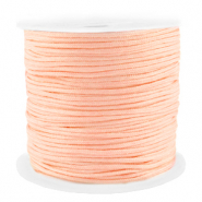Macramé bead cord 1.5mm benefit package Peach