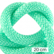 Maritime cord 10mm (4x20cm) Turquoise