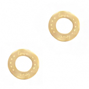 Stainless steel charms/connector Gold
