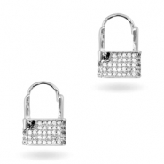 Zirconia earrings Silver