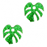 Plexx charms leaf glitter Irish Green