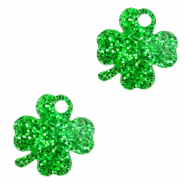 Plexx charms clover glitter Irish Green
