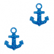 Plexx charms anchor glitter Royal Blue
