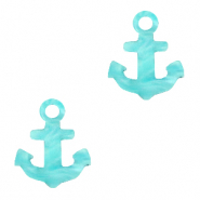Plexx charms anchor Turquoise Blue