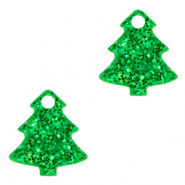 Plexx charms Christmas tree glitter Irish Green
