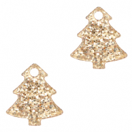 Plexx charms Christmas tree glitter Rose Peach