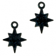 Plexx charms star shimmery Black