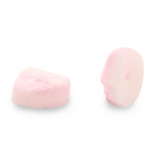 Coconut beads Disc 6mm Blossom Pink