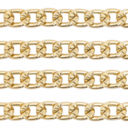 Belcher chain curb links Gold (nickel free)
