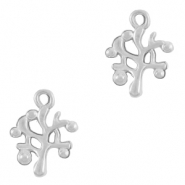 DQ European metal charms tree Antique Silver (nickel free)