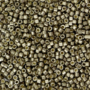 Miyuki beads delica's 11/0 Duracoat Galvanized Pewter Silver DB-1852