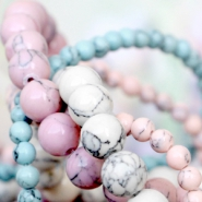 NEW Spring collection turquoise natural stone beads