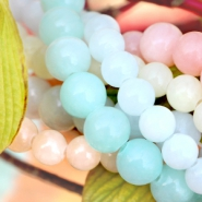 NEW New: Natural Jade stone beads and chip stone beads!