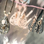 NEW New design: Ethnic Polaris pendants