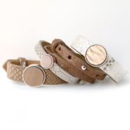 NEW New: luxurious Cuoio bracelets with animal print!