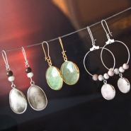 NEW New: Semi-precious stone pendants