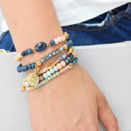 Inspirational Sets Summer glamour with top faceted beads