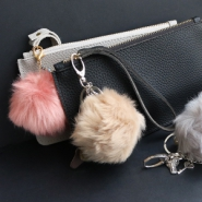 NEW New faux fur pompom charms, so fluffy!