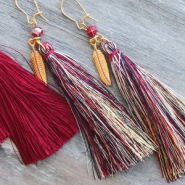 NEW Tassels in 3 sizes and new colours!