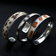 NEW New nature leather in trend colours and animal prints
