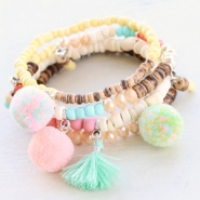 Inspirational Sets Caribbean jewellery with coconut beads!