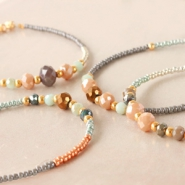 NEW Wow! Mega collection facetted beads for autumn