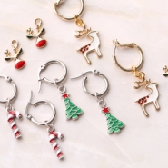 NEW Cheerful metal Christmas charms!