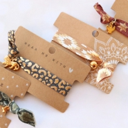 NEW NEW! Elastic ribbon in new prints!