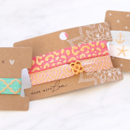 NEW NEW! Elastic ribbon in summery designs