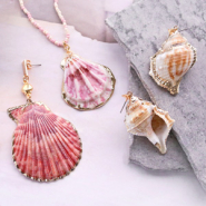 NEW TREND ALERT: new shell pendants + belcher chain