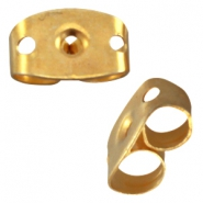 DQ metal earring backs Gold (nickel free)