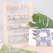 NEW NEW! Wooden displays