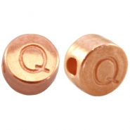 DQ metal letterbead Q Rose gold (nickel free)